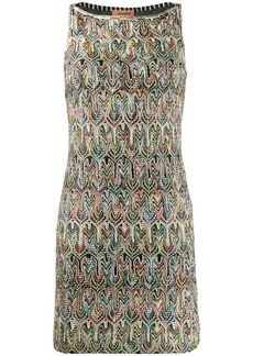 Missoni intarsia shift dress