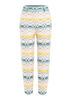 Missoni Jacquard Ankle Length Pants