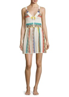 Missoni Jacquard Striped Short Dress