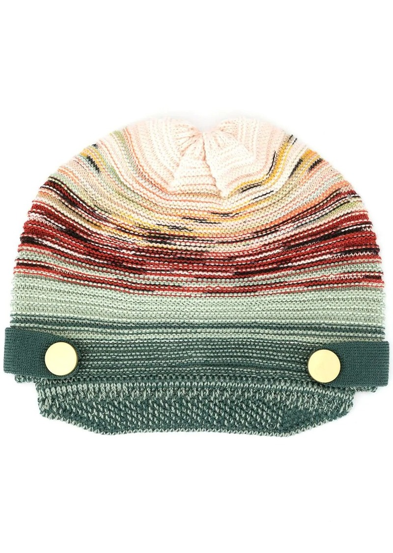 Missoni striped knitted hat