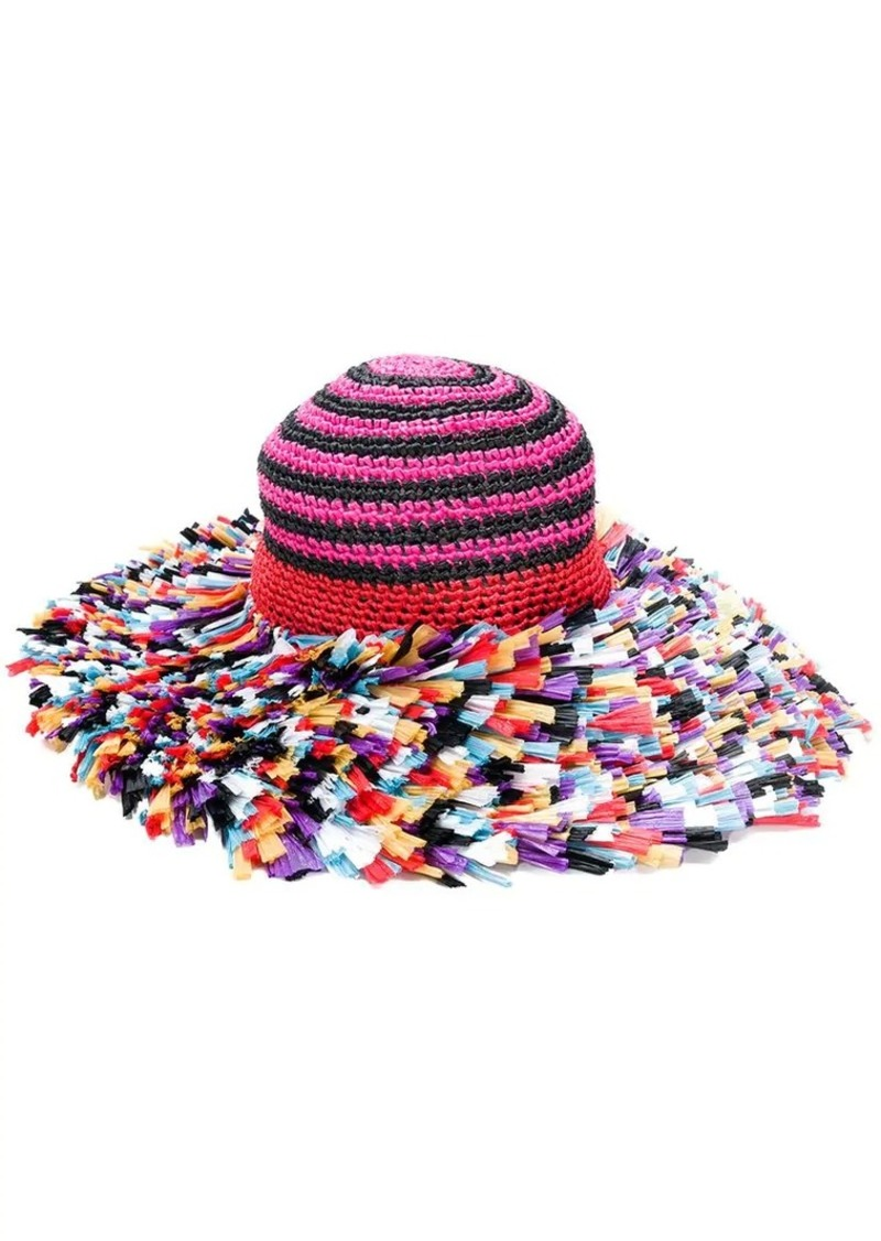 a1b83d7326651f Missoni knitted beach hat | Misc Accessories