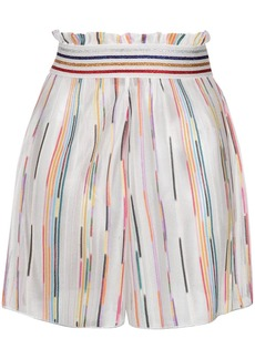 Missoni striped knitted shorts