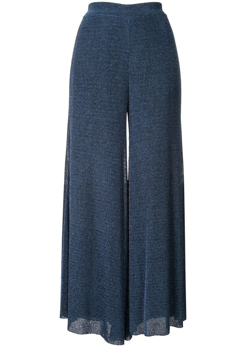 Missoni lamé cropped trousers