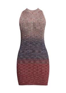 Missoni Lame Sleeveless Knit Mini Dress