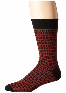 Missoni Logo Jacquard Socks