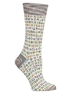 Missoni Logo Knit Socks