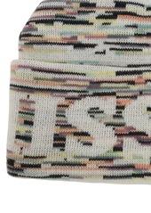 Missoni Logo Wool Blend Beanie