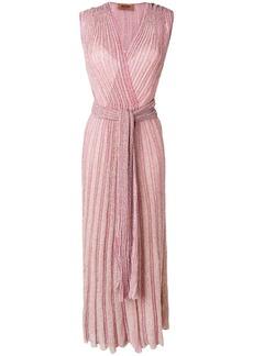 Missoni long wrap dress
