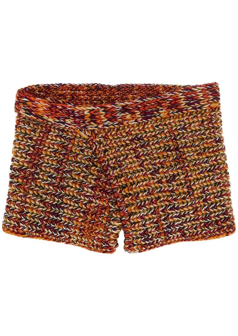 Missoni loose weave scarf