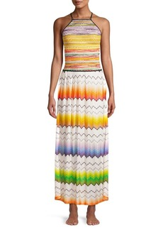 Missoni Maglieria Multifiammata Maxi Dress