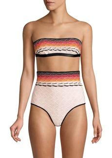 Missoni Maglieria Sfumata Two-Piece High-Waist Bikini