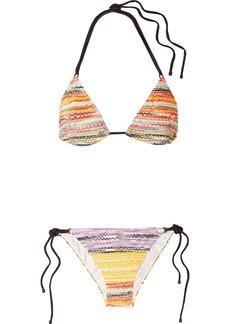 Missoni Mare Crochet-knit Bikini