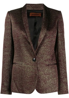 Missoni metallic-effect fitted jacket