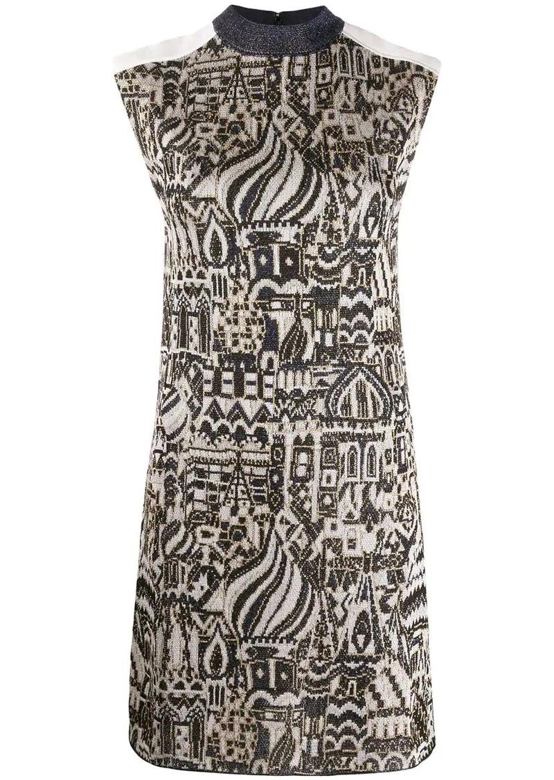 Missoni metallic knit dress