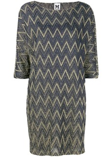 M Missoni metallic sheen shift dress