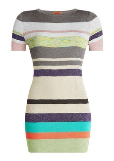 Missoni Mini Dress with Metallic Thread