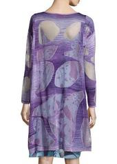 Missoni Abstract Intarsia Knit Tunic Dress