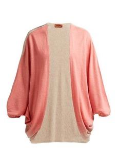 Missoni Batwing-sleeve cashmere-blend cardigan