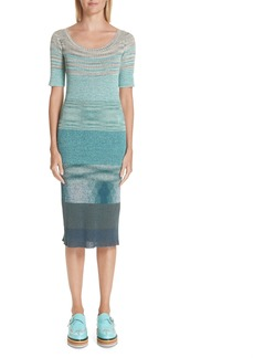 Missoni Boatneck Ribbed Dress
