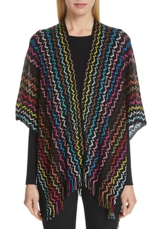 Missoni Bright Zigzag Cape
