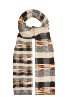 Missoni Checked wool-blend scarf