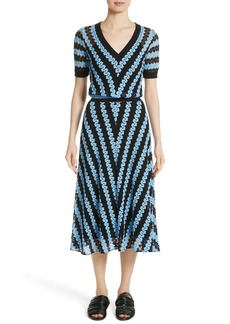 Missoni Chevron Knit Midi Dress