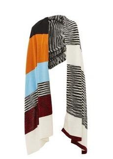 Missoni Colour-block wool scarf