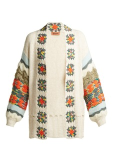 Missoni Crochet-trimmed cardigan