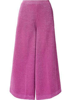 Missoni Cropped Lurex Wide-leg Pants