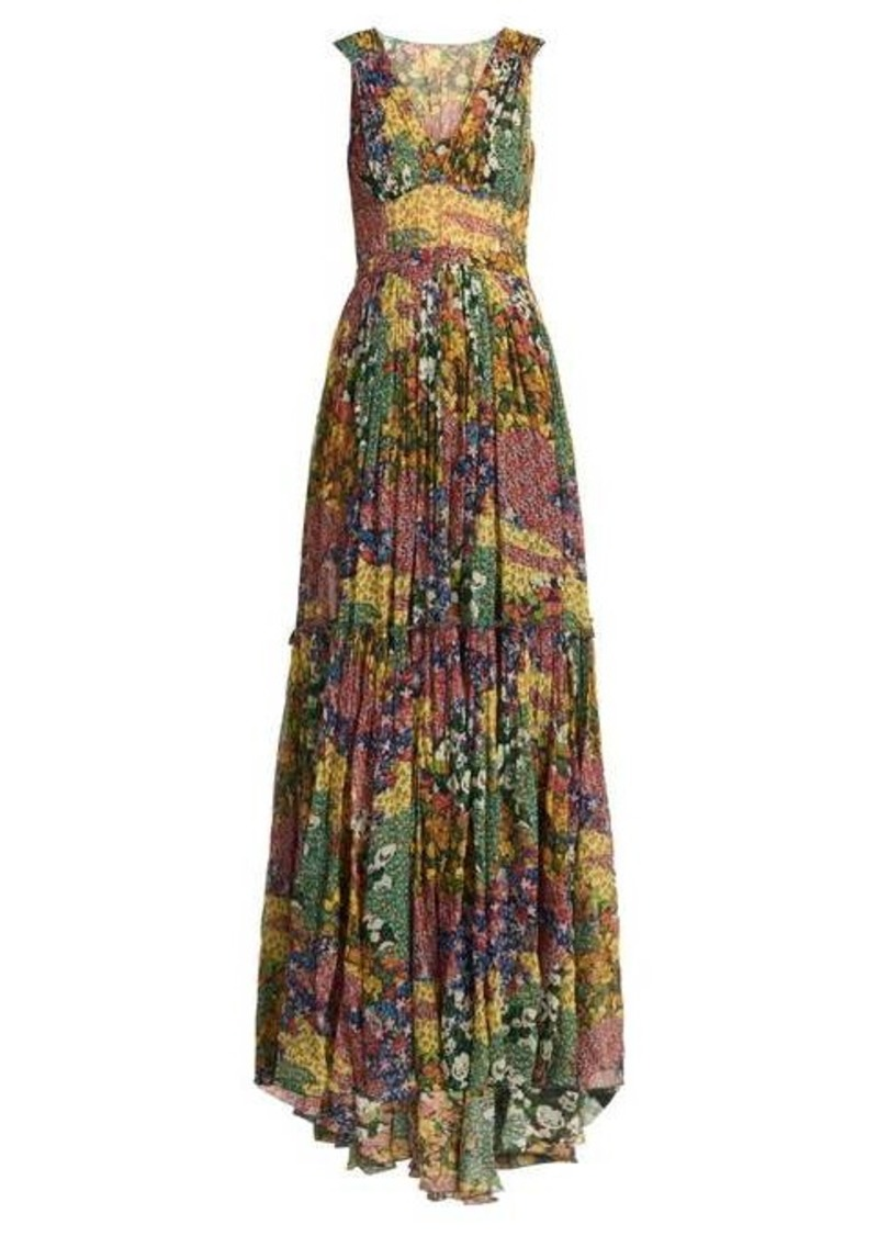 Missoni Floral-print silk dress