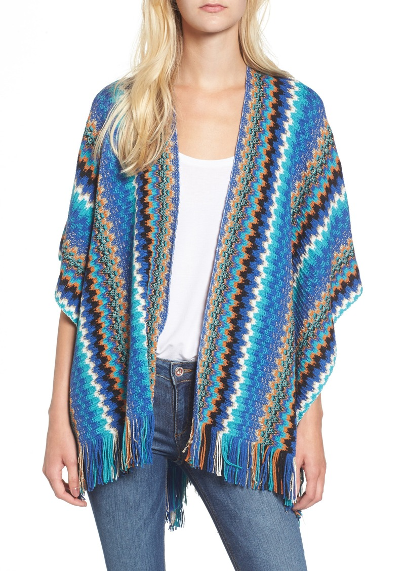 3714c2bd81dad0 Missoni Missoni Fringe Zigzag Cape | Misc Accessories