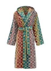 Missoni Home Yassine hooded checked cotton-terry robe