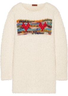 Missoni Intarsia chunky-knit sweater