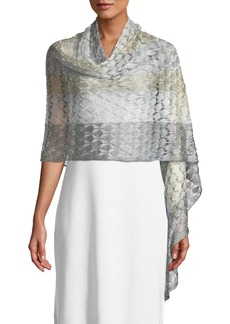 Missoni Knit Shimmer Shawl