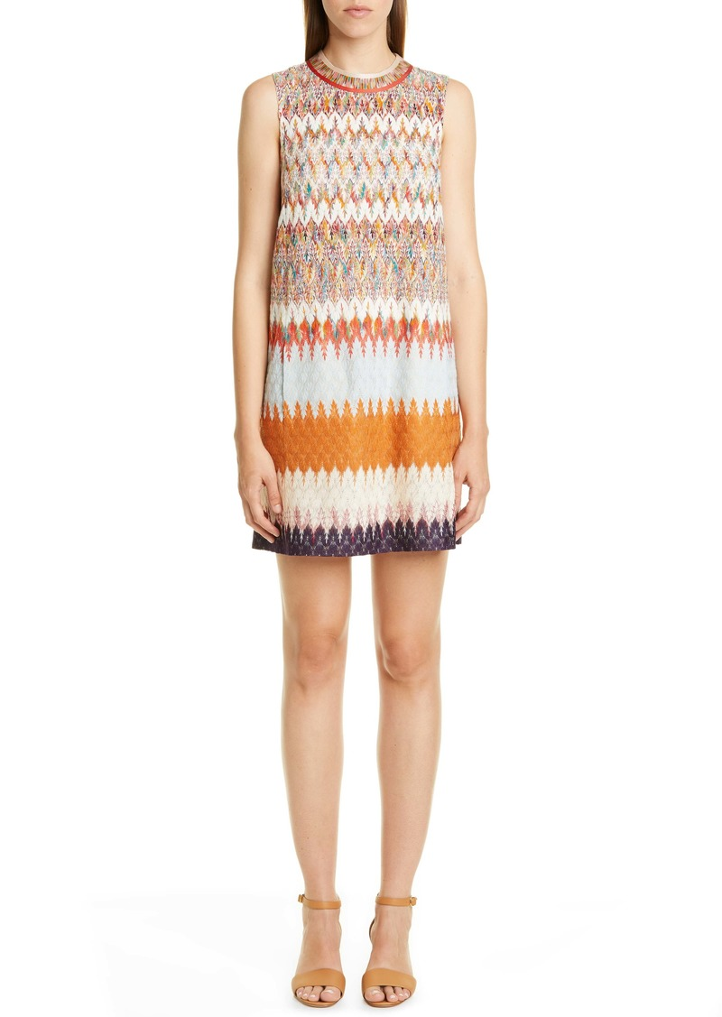 Missoni Knit Sleeveless Minidress