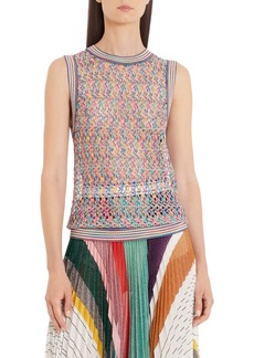 Missoni Knit Sleeveless Top