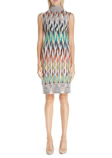 Missoni Knit Turtleneck Dress