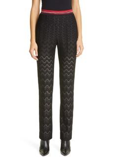 Missoni Knit Wool Blend Pants