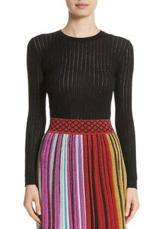 Missoni Knit Wool Blend Sweater