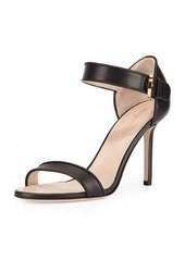 Missoni Leather Closed-Heel Sandal