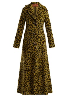 Missoni Leopard-jacquard terry coat