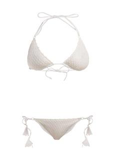 Missoni Mare Bridal diamond-crochet knit bikini
