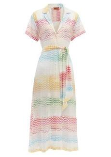 Missoni Mare Button-through zigzag shirtdress