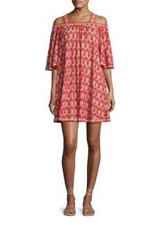 Missoni Mare Cold-Shoulder Coverup Dress