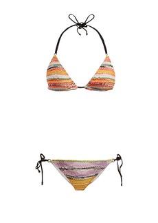 Missoni Mare Crochet-knit triangle bikini set