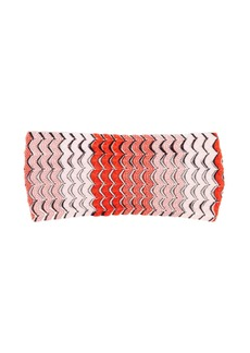 Missoni Mare Fish-scale knitted headband
