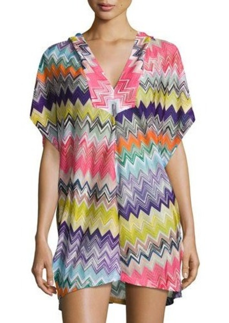 dde95fbd2a Missoni Missoni Mare Hooded Zigzag Beach Coverup Dress | Swimwear