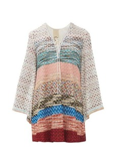 Missoni Mare Striped metallic mini dress