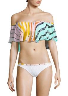 Missoni Multicolor Ruffle Bikini