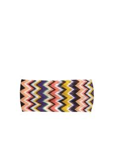 Missoni Mare Multicoloured zigzag headband